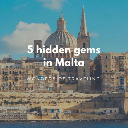 5 hidden gems in Malta
