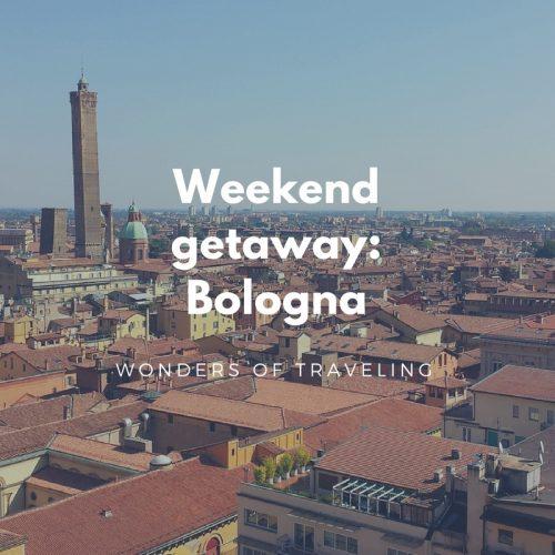 Weekend getaway_ Bologna