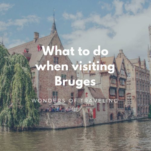 Visiting Bruges