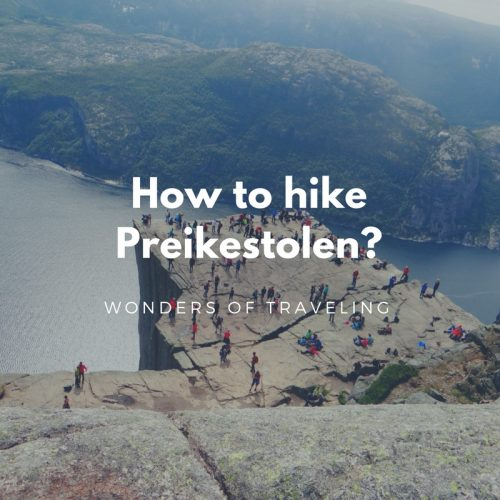 How to hike Preikestolen_