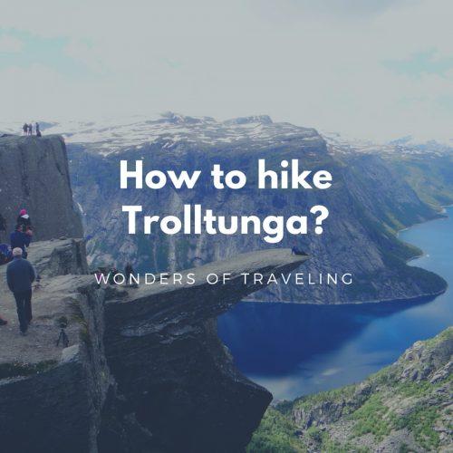 How to hike Trolltunga_