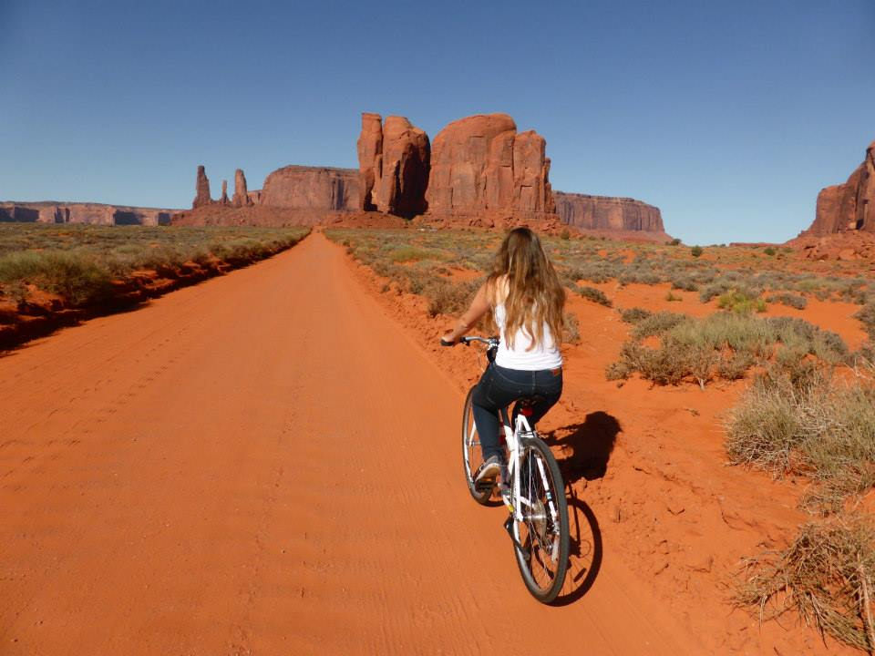 Monument Valley by bike