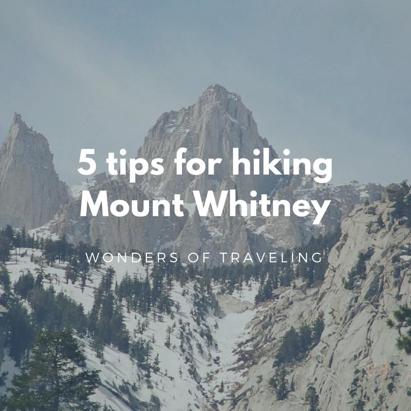 Hiking Mount Whitney