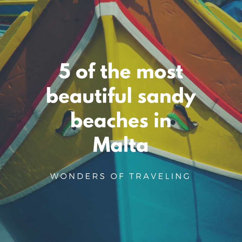 5 of the most beautiful sandy beaches in Malta (1)