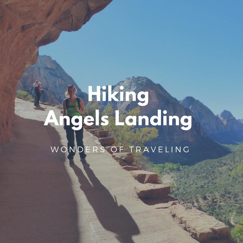 Hiking Angels Landing