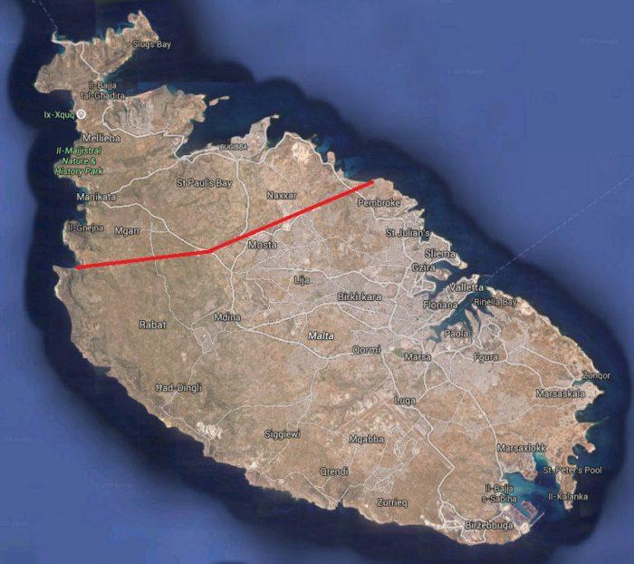 hikes in Malta