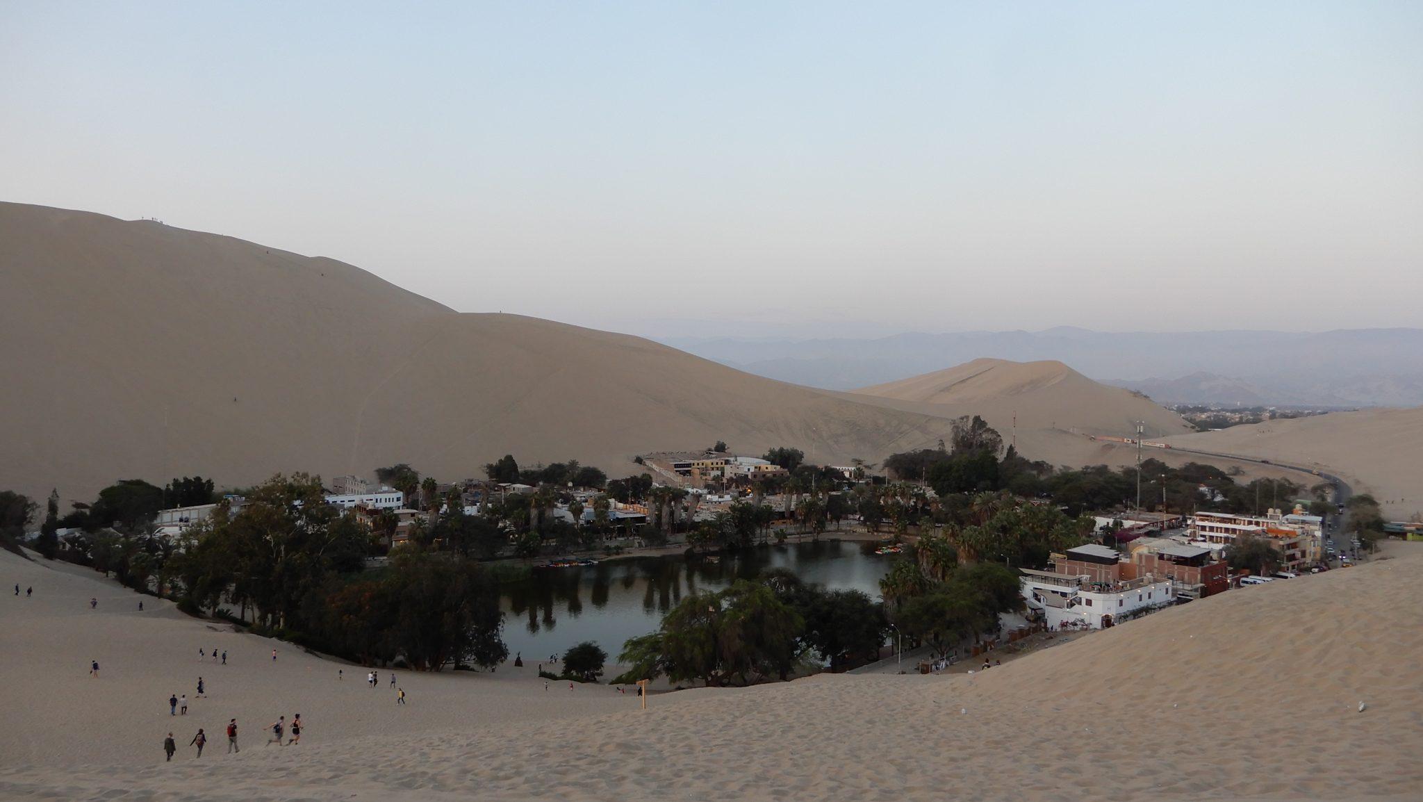 Huacachina and Nazca