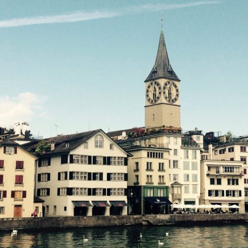 24 hours in Zürich