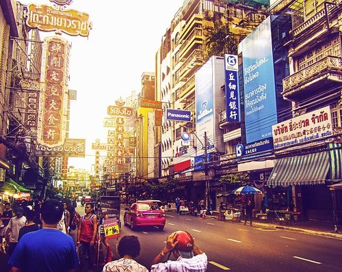 A street in Bangkok